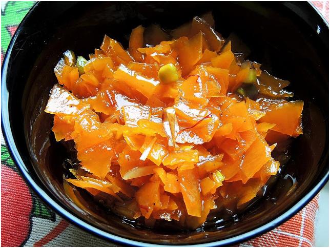 gajaracha moramba bowl