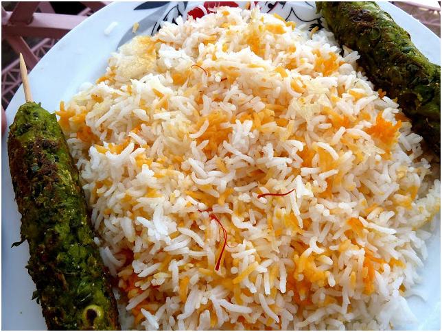 Persian Pulao dish