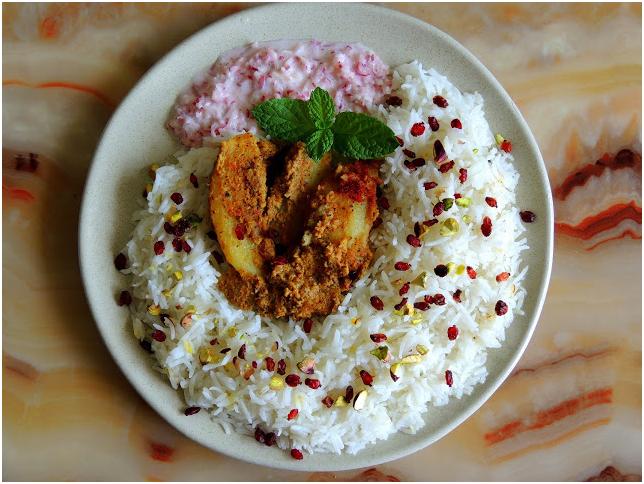 batate bhat dish