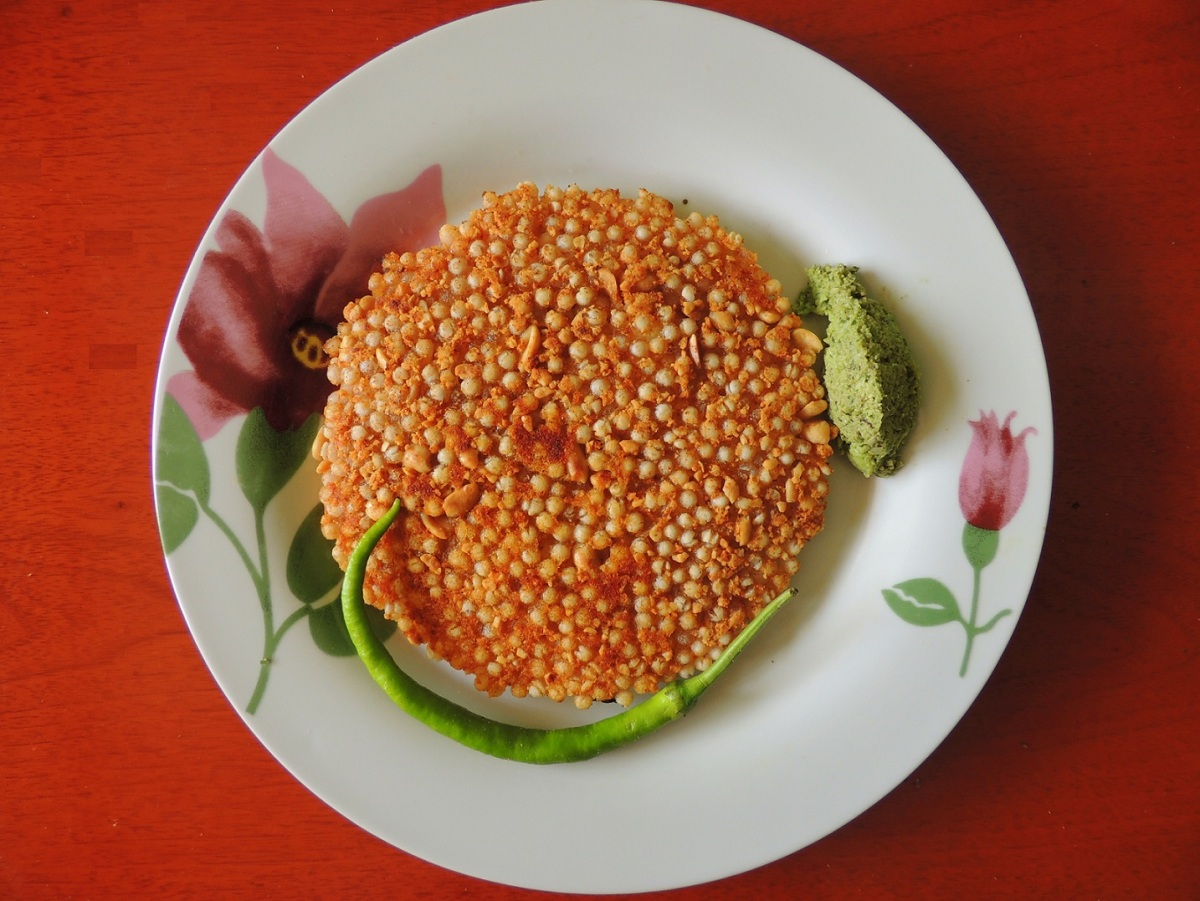 Sago Thalipith ( a savory patties ) two versions