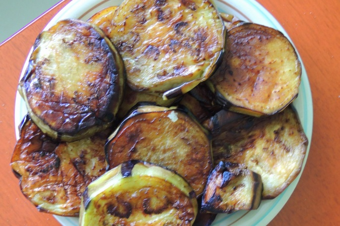 sudani brinjal fried slices