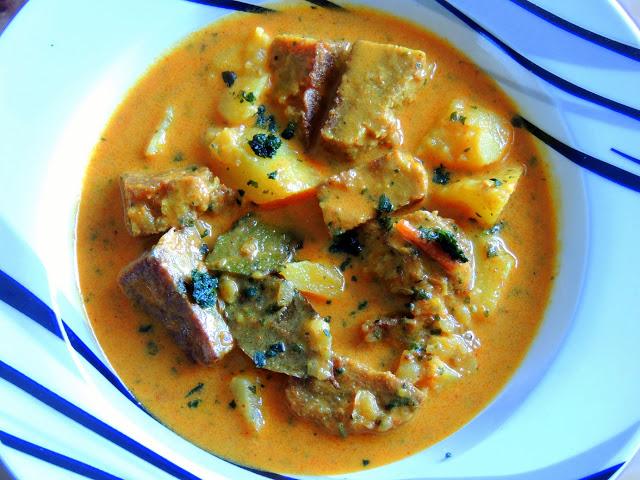 Mukund Vadee type 2 (Rajasthani chakki ki sabji) Wheat glutencurry